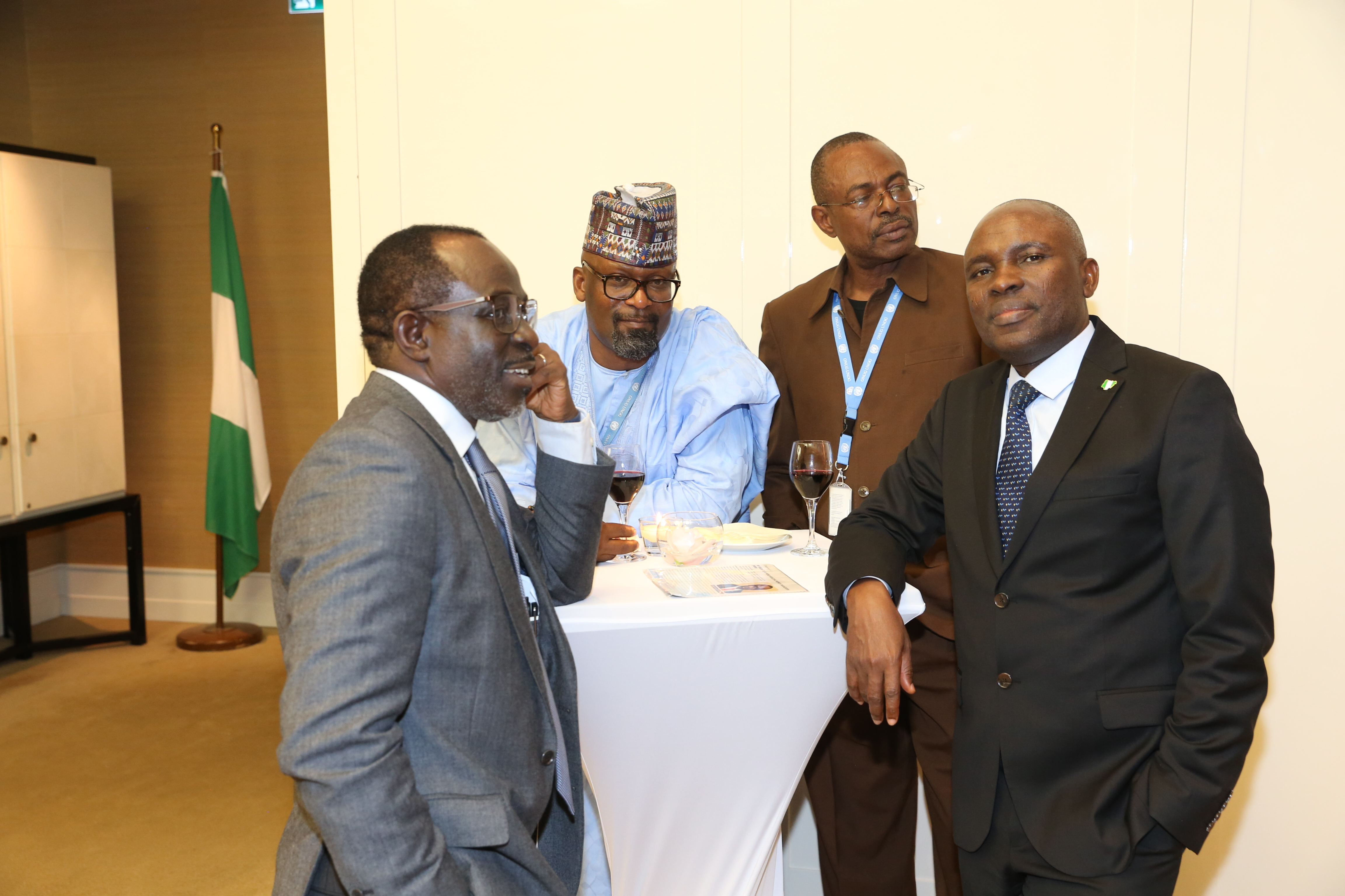 RECEPTION/PRENSENTATION OF PROF. ADEBAMBO ADEWOP, AS NIGERIA'S CANDIDATE TO THE POST OF DIRECTOR-GENERAL, WIPO.