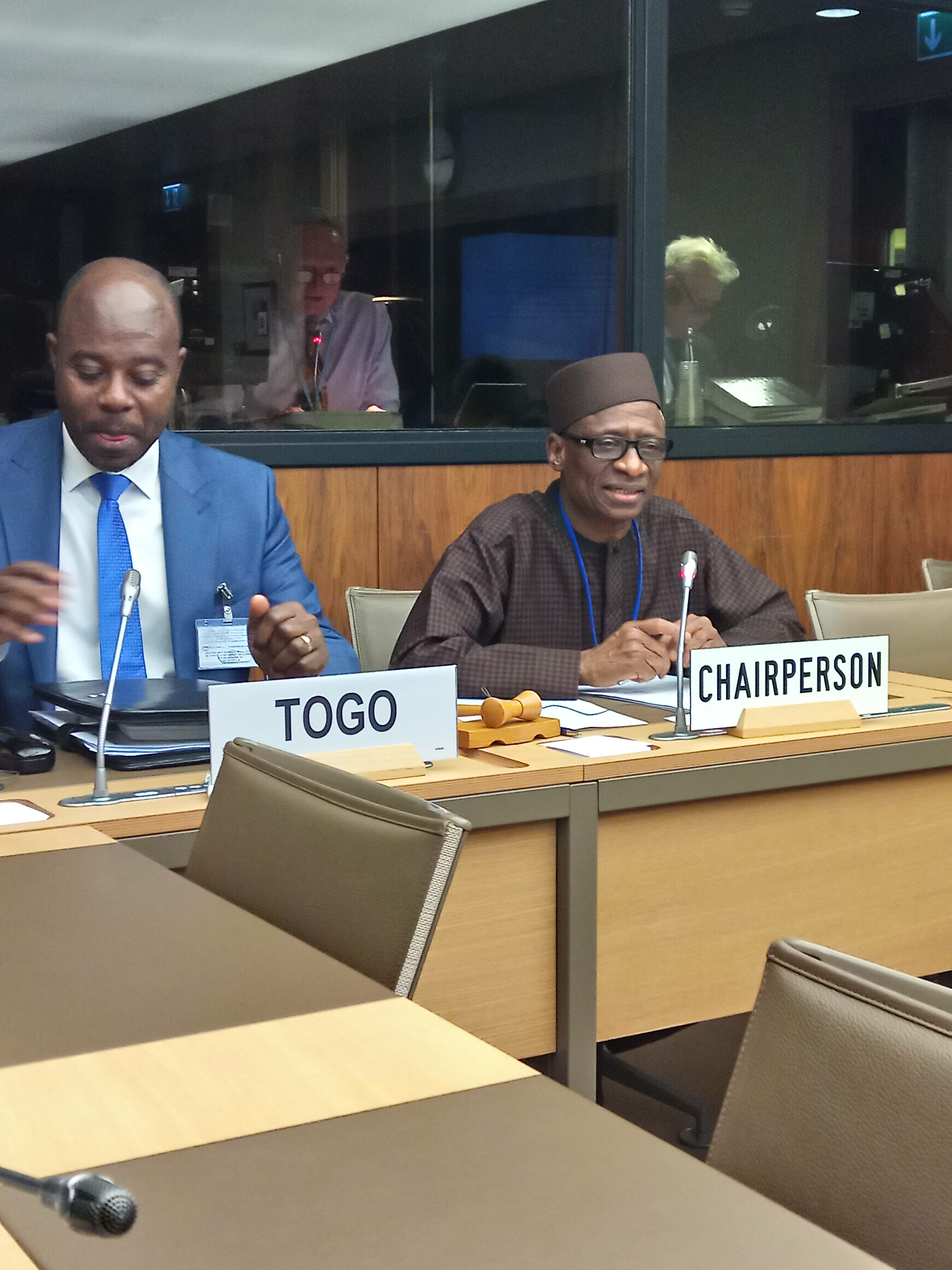 Ambassador Audu Kadiri assumes office as the Chairman/Coordinator of the Group of ECOWAS Permanent Representatives to the World Trade Organisation in Geneva