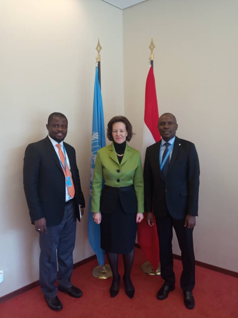 Meeting with the President of the Human Rights Council, Ambassador Elisabeth Tichy-Fisslberger