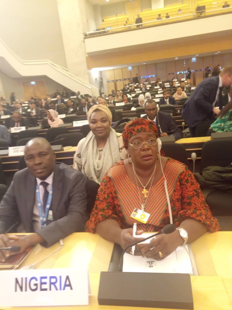 Nigeria's Delegation at the Global Forum for Refugees,  18th December, 2019, in Geneva Switzerland